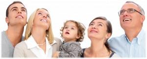 משפחה בריאה ומאושרת